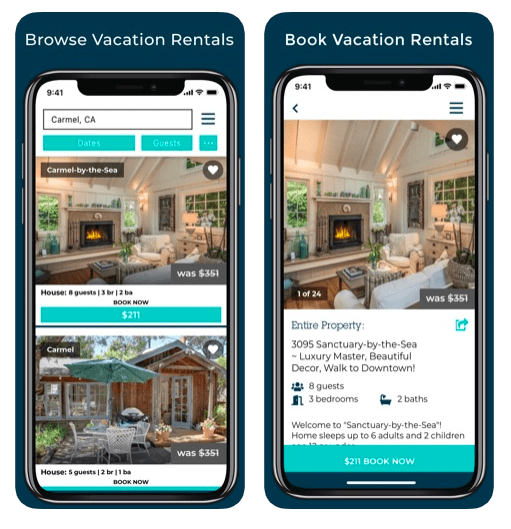 Whimstay last minute vacation rental app